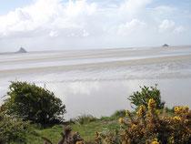 La baie vue de la pointe du Grouin du sud