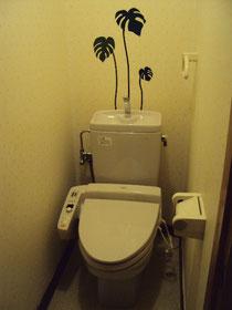 トイレ,ウォールステッカー
