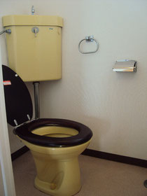 トイレ,木製便座