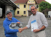 Auszeichnung des Weinguts Stauffer