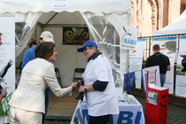 Ministerpräsidentin Malu Dreyer zu Besuch beim NABU-Stand