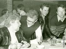 von links:    Bernd Hennenberger, Willi Sinthern, Kurt Lasch, Karl Dietrich