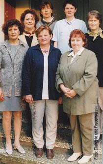 Der Vorstand im Jahre 1999