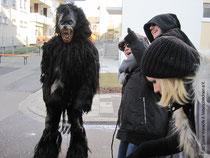 Linxer Werwolf bei einem Umzug
