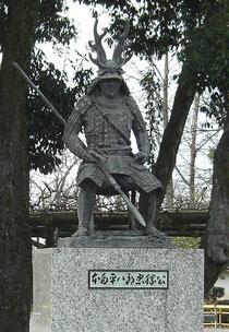 本多平八郎忠勝像 岡崎城公園