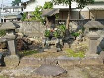 平成輔墓所