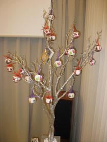 大昔のクリスマスツリーはこんな感じだった!
