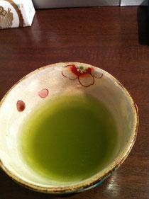 美しくおいしいお茶 in ファニーフェイス