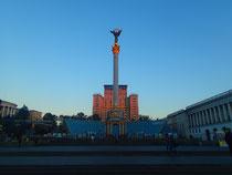 Maidan Square nach den Protesten