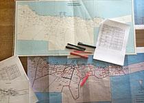 Karte oben zeigt die alten Schulkreise (11) / Karte unten zeigt die neuen Schulkreise (13)
