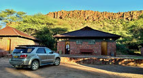 Unser Bungalow im Waterberg Resort