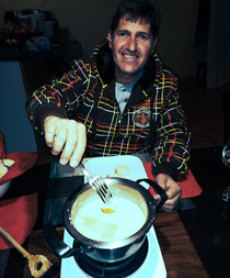 Mein erstes Gerber Fondue in Namibia