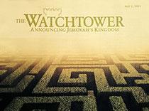 Der Wachturm verkündet Jehova's Reich