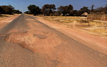 Russisch Roulette auf Zambias Strassen