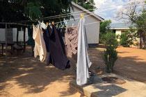Meine erste Wäsche in Rundu