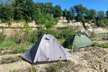 Campspot am oberen Po