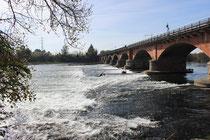 Brückenwehr Ponte Vigevano
