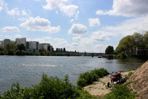 Die Loire bei Nantes