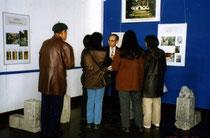 歴史博物館での門墩展