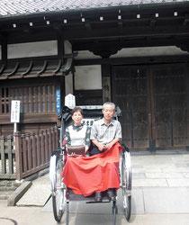 浅草の人力車