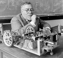Norbert Wiener (1894-1964), père de la cybernétique.