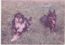 Chaysy (rechts) mit Darling