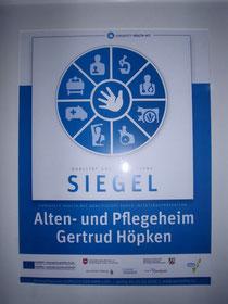 Auszeichnung für europäische Hygienestandards