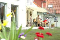Altenpflegeheim Höpken Gartenansicht