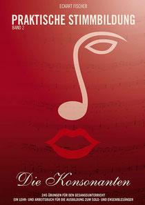 Das Titelbild des Buches zeigt ein Notenschlüssel-Gesicht auf rotem Grund
