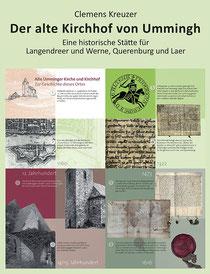 Das Umschlagbild zeigt die 1. Infotafel des Ümminger Friedhofs