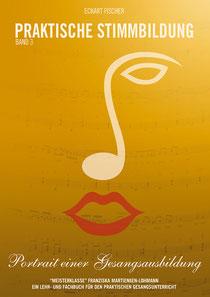 Das Titelbild des Buches zeigt ein Notenschlüssel-Gesicht auf ockerfarbenem Grund