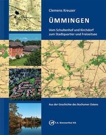 Das Umschlagbild zeigt Bilder und historische Karten von Ümmingen