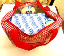 天然素材,自然味覚,手作り,アイスモナカ,パリパリアイスモナカ,バニラアイスモナカ,美濃市で60年,1時間冷凍保冷袋