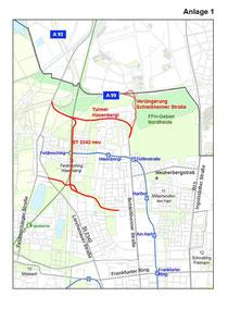 Anlage zum Beschluss des Ausschusses für Stadtplanung und Bauordnung vom 25.05.2011 (SB)