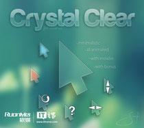 超炫水晶鼠标指针方案下载:Crystal Clear