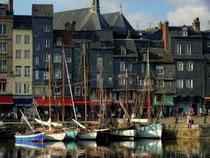 Le port pitoreque de Honfleur