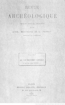 Fernand de MÉLY (1852-1935) : Le « De Monstriis » chinois et les bestiaires occidentaux. Revue archéologique, septembre-octobre 1897, pages 353-373.