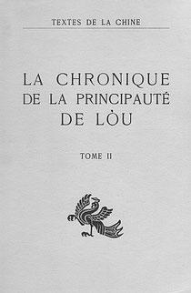 Tch'ouen  Ts'iou  et  Tso  tchouan [Chunqiu Zhozhuan] La chronique de la principauté de Lòu, Tome  II traduit par Séraphin COUVREUR (1835-1919). Cathasia, Paris, 1914,1951.
