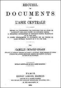 Camille IMBAULT-HUART (1857-1897). L'Histoire de l'insurrection des Tounganes sous le règne de Tao kouang̃ (1820-1828)