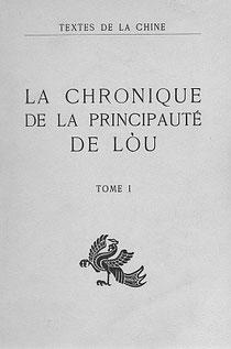 Tch'ouen  Ts'iou  et  Tso  tchouan [Chunqiu Zhozhuan] La chronique de la principauté de Lòu, Tome  I traduit par Séraphin COUVREUR (1835-1919). Cathasia, Paris, 1914,1951.