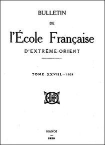 Georges Cordier (1872-1936) : Folklore du Yunnan. Jeux d'enfants et chansons diverses Bulletin de l'École française d'Extrême-Orient, Paris, 1928, tome 28, pages 349-440.
