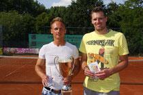 Sieger Jakunin und Finalist Deneke
