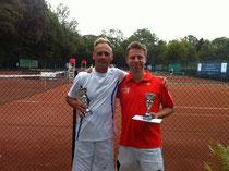 Sieger Jakunin und Finalist Ruschlau