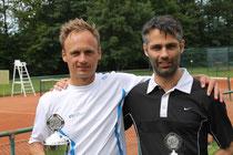 Sieger Jakunin und Finalist Stock