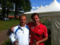 Sieger Jakunin und Finalist Aberg