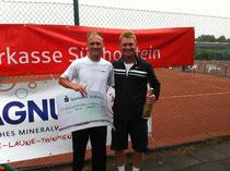 Sieger Jakunin und Finalist Petrenko