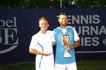 Finalist Jakunin und Sieger Leimbach