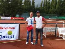 Sieger Jakunin und Finalist Khrolenkov