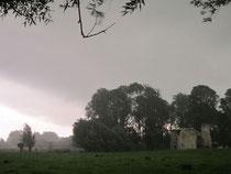 Orage au chateau eaucourt sur somme picardie alerte météo orange du 21 juin 2012