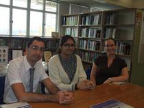 Maria et ses professeurs de français